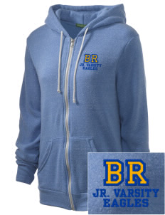 Blue Ridge Elementary School Eagles Embroidered Alternative Unisex The Rocky Eco-Fleece Hooded Sweatshirt