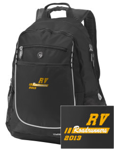 Rancho Vista Elementary School Roadrunners Embroidered OGIO Carbon Backpack