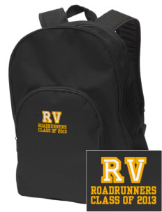 Rancho Vista Elementary School Roadrunners Embroidered Value Backpack