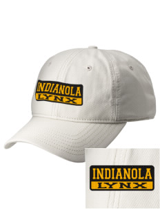 Indianola Junior High School Lynx  Embroidered New Era Adjustable Unstructured Cap