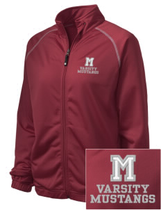 Marshall Middle School Mustangs Embroidered Holloway Women's Attitude Warmup Jacket