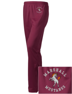 Marshall Middle School Mustangs Embroidered Holloway Women's Contact Warmup Pants