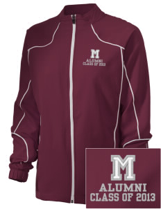 Marshall Middle School Mustangs Embroidered Russell Women's Full Zip Jacket