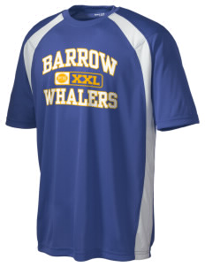 Barrow High School Whalers Men's Dry Zone Colorblock T-Shirt