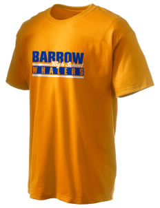 Barrow High School Whalers Hanes Men's 6 oz Tagless T-shirt