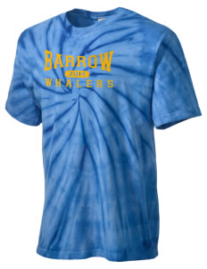 Barrow High School Whalers Men's Tie-Dye T-Shirt