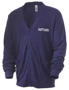 North Canyon High School Rattlers Men's 5.6 oz Triblend Cardigan