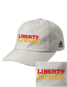 Liberty Alternative Education Center Lions Embroidered adidas Relaxed Cresting Cap