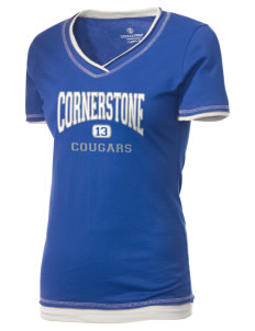 Cornerstone School Cougars Holloway Women's Dream T-Shirt