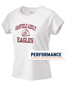 Garfield Adult Center Eagles Champion Women's Wicking T-Shirt