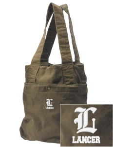 North Park Middle School Lancer Embroidered Alternative The Berkeley Tote