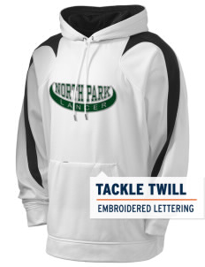 North Park Middle School Lancer Holloway Men's Sports Fleece Hooded Sweatshirt with Tackle Twill