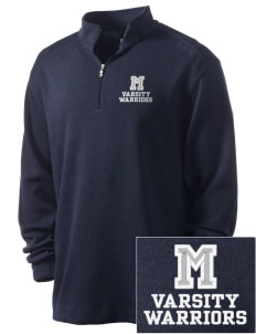 Modoc Middle School Warriors Embroidered Nike Men's Golf Heather Cover Up