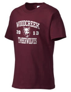 Woodcreek High School Timberwolves Kid's Essential T-Shirt