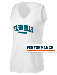 Folsom Hills Elementary School Foxes Women's Performance Fitness Tank