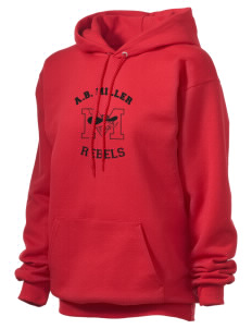 A.B. Miller High School Rebels Unisex Hooded Sweatshirt