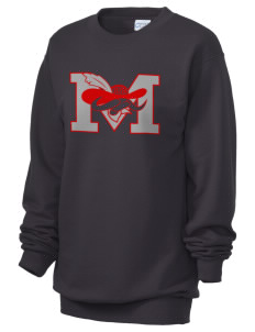 A.B. Miller High School Rebels Unisex 7.8 oz Lightweight Crewneck Sweatshirt
