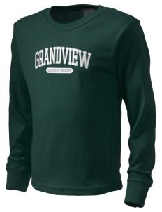 Grandview Elementary School Grizzly Bears  Kid's Long Sleeve T-Shirt