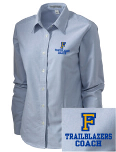 Fremont Middle School Trailblazers Embroidered Women's Classic Oxford