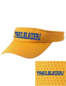 Fremont Middle School Trailblazers Embroidered Woven Cotton Visor
