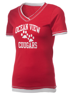 Ocean View Elementary School Cougars Holloway Women's Dream T-Shirt