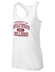 North Valley Continuation High School Bulldogs Women's Racerback Tank