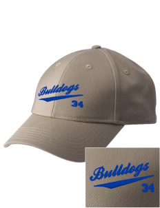 Fall River Senior High School Bulldogs  Embroidered New Era Adjustable Structured Cap