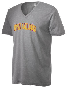 Jean Callison Elementary School Cougars Alternative Men's 3.7 oz Basic V-Neck T-Shirt