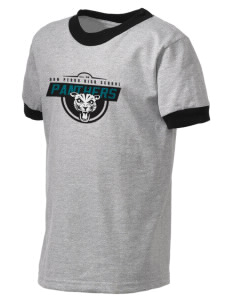 Don Pedro High School Panthers Kid's Ringer T-Shirt