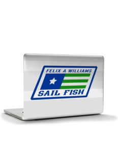 "Felix A Williams Elementary School Sail Fish Apple MacBook Pro 15"" & PowerBook 15"" Skin"