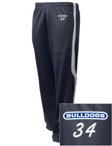Albany Park Multicultural Academy Bulldogs Embroidered Holloway Men's Tricotex Warm Up Pants