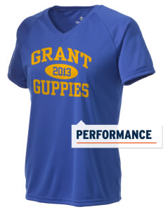 Grant Elementary School Guppies Holloway Women's Zoom Performance T-Shirt
