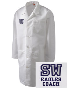 Southeast Webster Middle School Eagles Full-Length Lab Coat