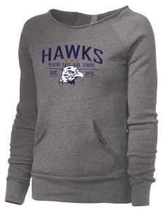 Olathe East High School Hawks Alternative Women's Maniac Sweatshirt