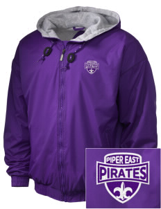 Piper East Elementary School Pirates Embroidered Holloway Men's Hooded Jacket