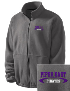 Piper East Elementary School Pirates Embroidered Men's Fleece Jacket