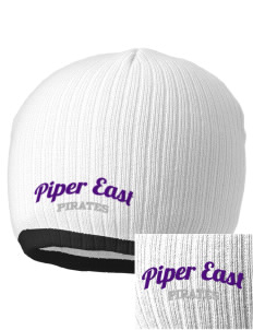 Piper East Elementary School Pirates Embroidered Champion Striped Knit Beanie