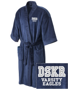 Dr Sally K Ride Elementary School Eagles Embroidered Terry Velour Robe