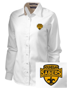 Souhegan High School Sabers  Embroidered Women's Pima Advantage Twill