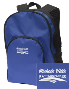 Nichols Hills Elementary School Rattlesnakes Embroidered Value Backpack