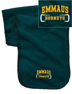 Emmaus High School Hornets Embroidered Fleece Scarf