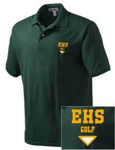 Emmaus High School Hornets Embroidered Men's Jersey Polo