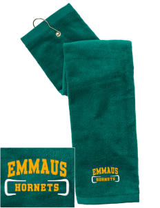 Emmaus High School Hornets Embroidered Hand Towel with Grommet