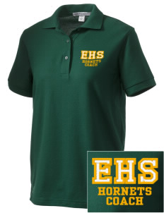 Emmaus High School Hornets Women's Embroidered Silk Touch Polo