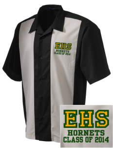 Emmaus High School Hornets Men's Embroidered Retro Camp Shirt
