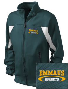 Emmaus High School Hornets Embroidered Holloway Kid's Impact Full-Zip Track Jacket