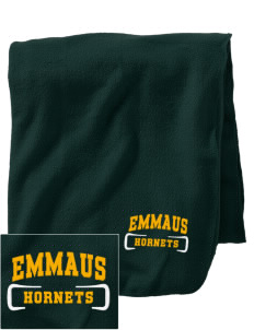 Emmaus High School Hornets Embroidered Holloway Stadium Fleece Blanket