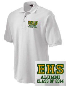 Emmaus High School Hornets Embroidered Tall Men's Pique Polo