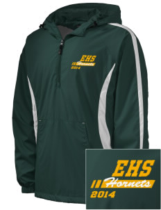 Emmaus High School Hornets Embroidered Men's Colorblock Raglan Anorak