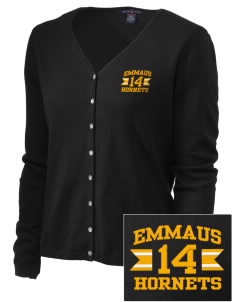 Emmaus High School Hornets Embroidered Women's Stretch Cardigan Sweater